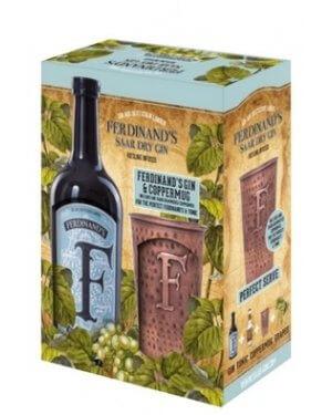 Ferdinands Gin im Set mit dem edlen Kupferbecher