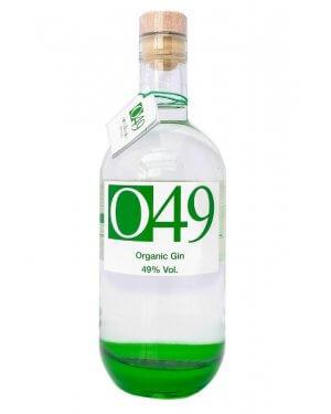 O49 Gin ist ein kräftiger Organic Gin.