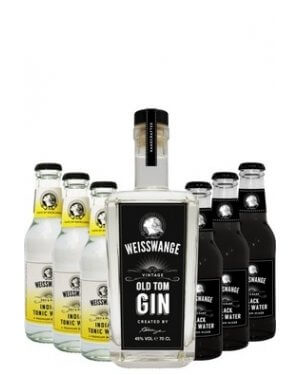 Black and white Gin Tonics bei GIN IN A BOTTLE