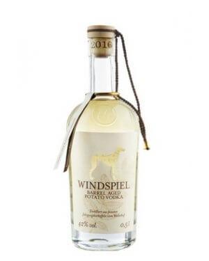 Den Windspiel Wodka am besten pur genießen.