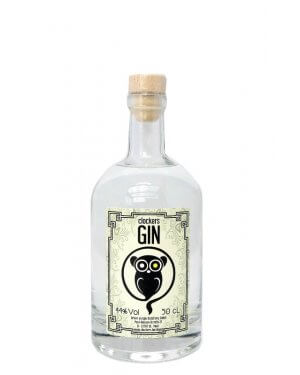 Clockers Gin - born in a bar.