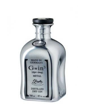 Der limitierte Ziegler-Gin in der silberfarbenen Karaffe