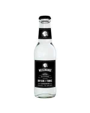 Weisswange Dry Gin & Tonic ist bereits fertig gemixt.
